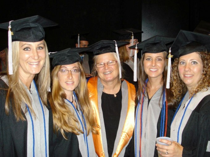 AAM Certificate Class of 2012 with Ruth Francis-Floyd, DVM, MS, DACZM (L to R): Drs. Alissa Deming, Susan Fogelson, Ruth Francis-Floyd, Brianne Phillips, Nicci Fisher