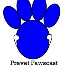 Prevet Pawscast logo