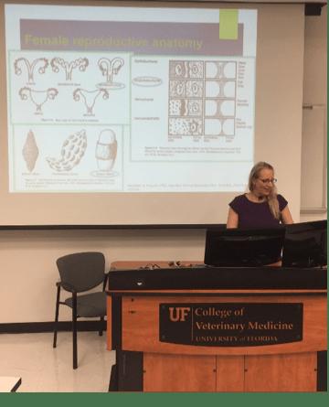 Dr. Larkin Teaching